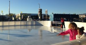 Skaters at Woodland Hills Ice